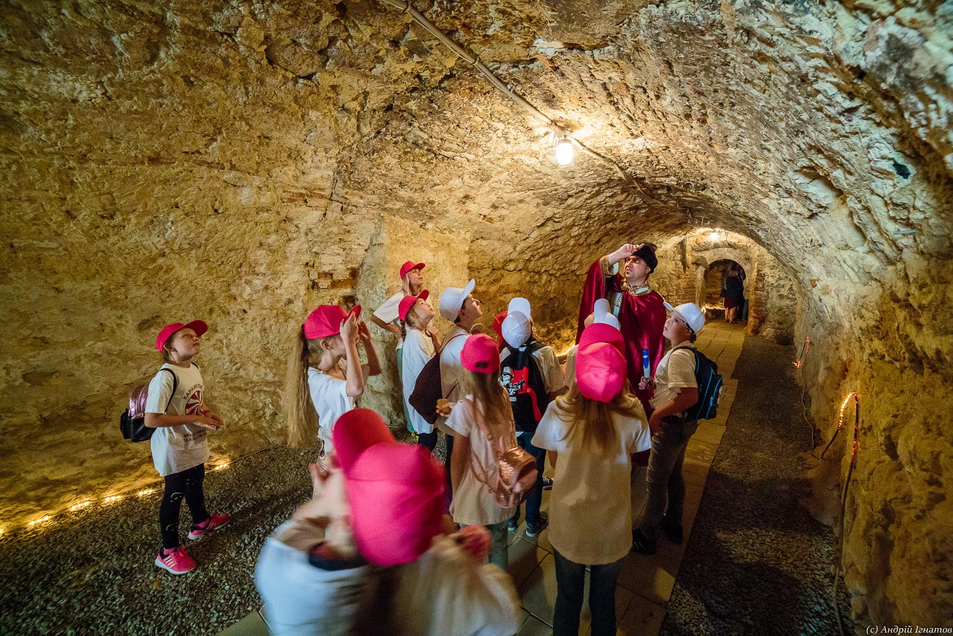 Підземелля домініканського монастиря Львів