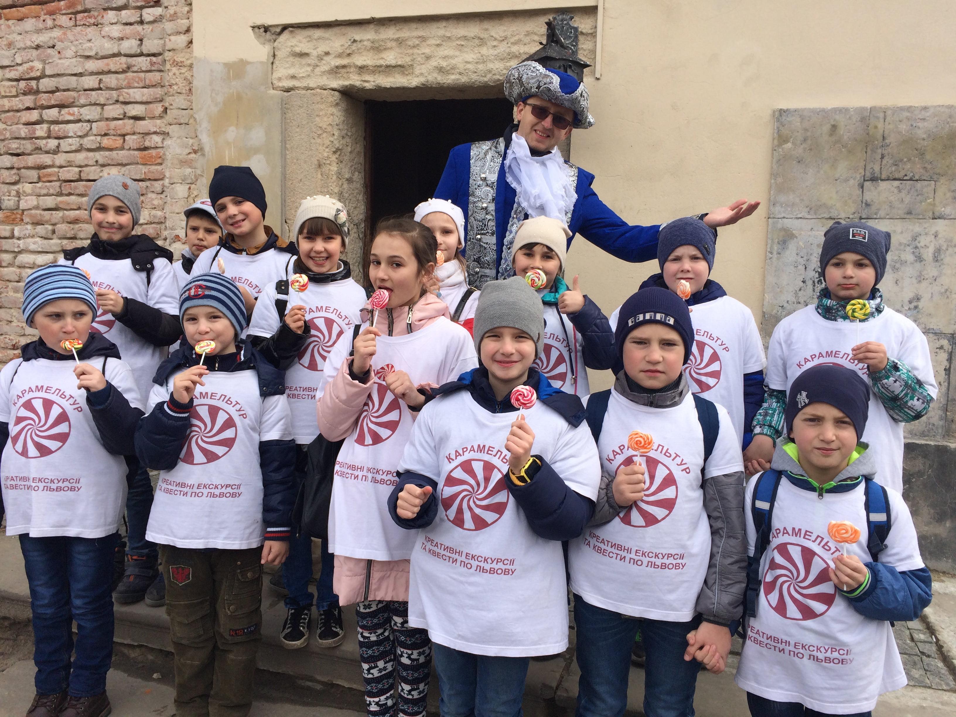 Костюмована екскурсія з подарунками «Таємні підземелля Львова»